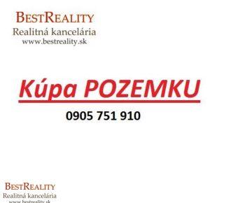Hľadáme na Kúpu Stavebný pozemok pre konkrétneho klienta RUSOVCE okolie www.bestreality.sk