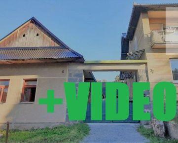 Rezervovaný-ViP Video. Dva rodinné domy 6+2 za cenu jedného, 1612m2, Zvolen - Dubové