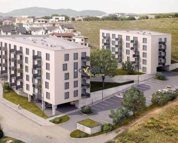 Na predaj 3-i. byt v novostavbe s balkónom - Byty Duo,Prešov