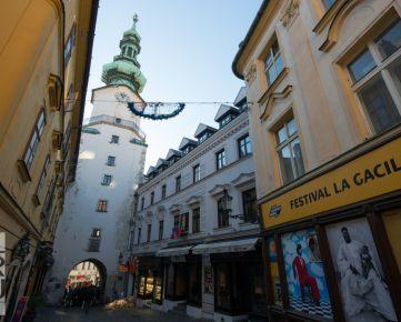Predaj 6-izb. mezonet s terasou a krbom, Bratislava - Staré Mesto