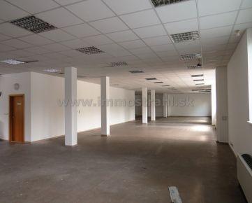 Obchodný priestor 285 m2 v polyfunkčnom objekte na Gagarinovej ulici