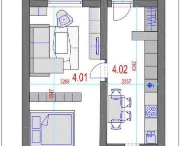 AMEXA REAL» ponúka na predaj 2izb apartmán - 71.985,-€