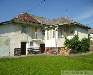 Dom vhodný na bývanie aj chalupu v obci OHRADZANY