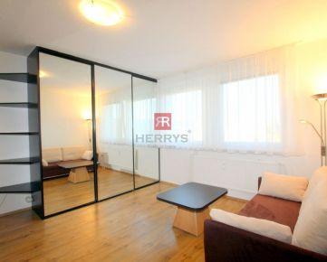 HERRYS - Na prenájom zariadený 1 izbový byt pri Digital Parku