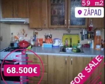 Predaj:2i byt prerobený na 3i so samostatným vstupom do každej izby,ZV