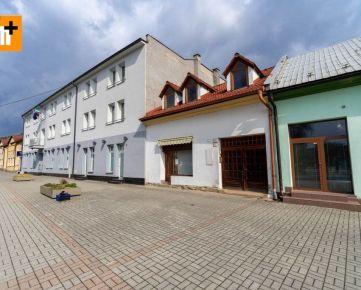 Reality holding+ ponúka Kysucké Nové Mesto Námestie v centre obchodné priestory na predaj - TOP ponuka