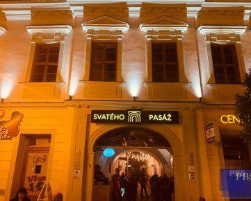 --PBS-- ++NA PRENÁJOM kaviareň/pub v jednej z najznámejších pasáži v centre mesta - SVATÉHO PASÁŽ++
