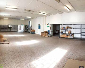 Na prenájom skladové priestory 415 m2 v priemyselnom areáli v Žiline