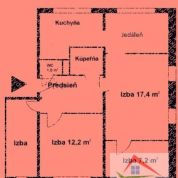 4-izb. byt 71m2, kompletná rekonštrukcia