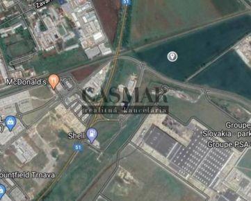 CASMAR RK - na predaj orná pôda 18.882 m2 pri automobilke PSA
