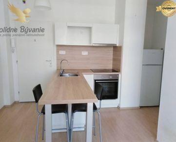 Krásny slnečný 1,5 izbový byt s loggiou, pivnicou a parkovaním