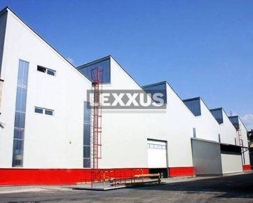 LEXXUS-PREDAJ, Výrobno - skladová budova, stropný žeriav, Trnava.