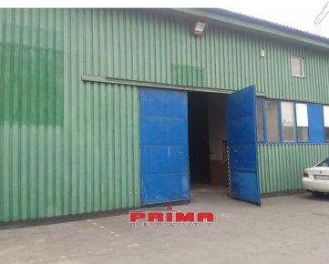 ID 2548   Prenájom: skladová hala, 375 m2 Žilina.