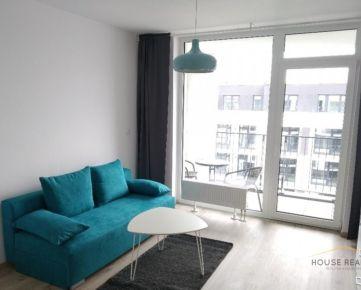 Prenájom NOVOSTAVBA 1 izbový byt, Sliačska ulica, Bratislava III Nové Mesto