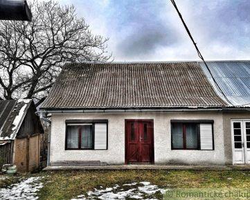 Exkluzívne - Menší útulný domček v malej dedinke Stará Huta