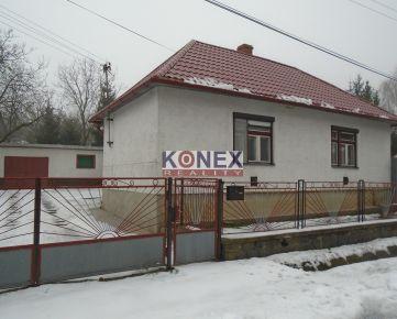 KONEX REALITY – Rodinný dom v obci Remetské Hámre