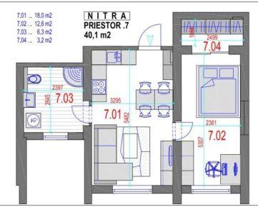 AMEXA REAL» ponúka na prenájom 2izb apartmán - 69.527,-€