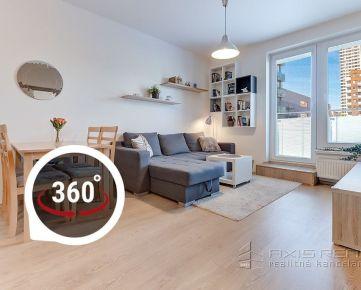 AXIS REAL:: REZERVOVANÝ 2-izbový byt, BA V. Petržalka, Lužná ulica