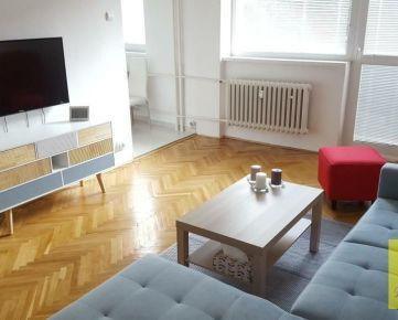 PRENÁJOM 2-izb. byt, 57 m2, balkón (1.p/4), Košice Tyršovo nábrežie