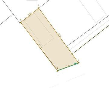 Pozemok s garážou s možnosťou prestavby na malý rodinný dom, 144 m2, Trenčín REZERVOVANÉ