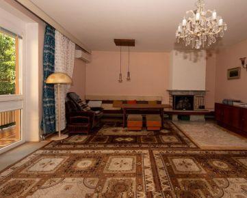 Predáme 5-izbový byt s krbom, záhradou, garážou a vlastným kúrením
