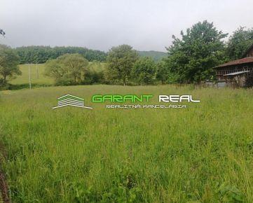 GARANT REAL - predaj stavebný pozemok, 1947 m2, Abrahámovce, okres Bardejov