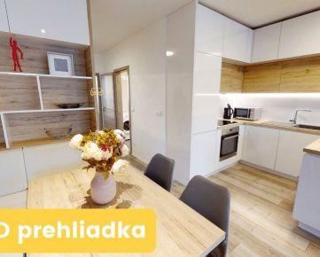 PRENAJATÉ Krásny moderný 2 izbový byt v novostavbe s lodžiou a parkovaním ZVOLEN