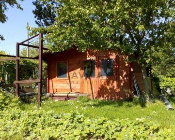 Na predaj pekná záhrada 255m2 s chatkou - Galanta
