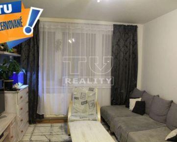 REZERVOVANÉ:EXKLUZÍVNE na predaj vkusne prerobený 2 izbový byt 51 m2 na sídlisku Dargovských hrdinov