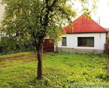 Starý vidiecky dom vhodný na rekonštrukciu v kľudnej  obci