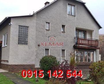 Na predaj rodinný dom v obci Cinobaňa časť Katarínska Huta- exkluzívne!!!