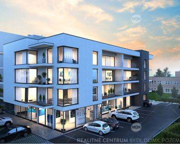 REZERVÁCIA (NP1a) Predaj nebytových priestorov o výmere 72,32m2 v projekte RUDNAY RESIDENCE, Cena: 95.308,70€ bez DPH