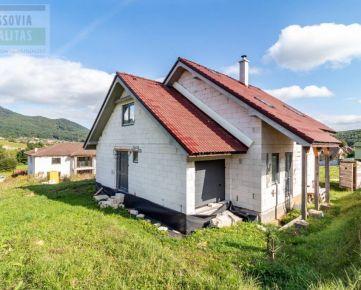 Predaj novostavby rodinného domu Kanaš - NOVINKA