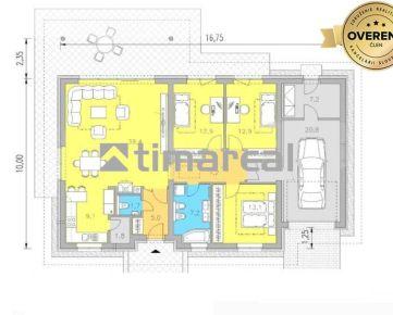 TIMA Real* 4i rodinný dom s garážou na peknom 9,5á pozemku, Voderady