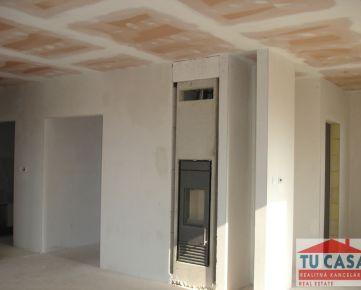 Gáň, predáme novostavbu 4-izbového rodinného domu na pozemku o výmere 530m2