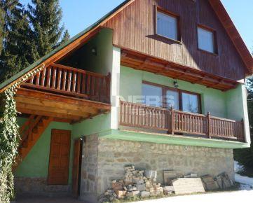 Exkluzívna ponuka. Ponúkame na predaj rekreačnú chatu v lyžiarskom stredisku Kokava - Línia.
