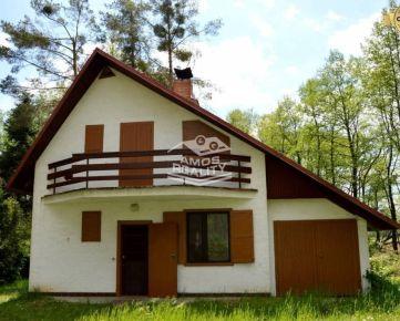 EXKLUZÍVNE, predaj, murovaná chata, rekreačná oblasť Tomky