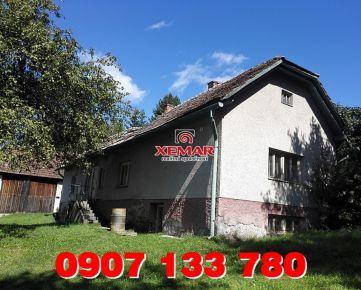Predaj- rodinný dom- Hriňová- Krivec II.