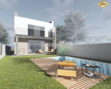Novostavba moderného 4i rodinného domu Modranka