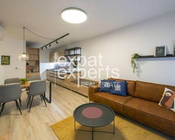 Dokonalý 2i byt, 51m2, terasa 9m2, parkovanie, Green Village