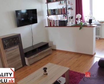 Krásny 2-izbový byt , v obľúbenej lokalite v Banskej Bystrici