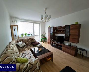 Predaj, priestranný kompletne zrekonštruovaný 2-izbový byt s loggiou, 65 m2, 2./8, KVALITNÁ REKONŠTRUKCIA, ČASŤ ZARIADENIA BYTU V CENE