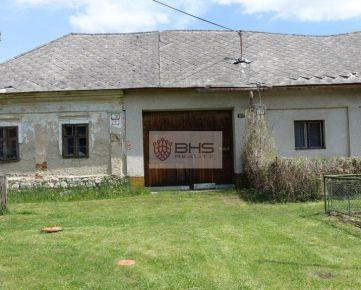 PREDAJ – starší RD v obci Nemecká, vidiecky štýl, pozemok 1.855 m2