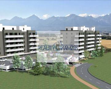 4. PODLAŽIE, 1-izbový byt s balkónom 4I na 4. podlaží, BYTOVÝ DOM BARBORA - NOVÉ BYTY V POPRADE NA PREDAJ
