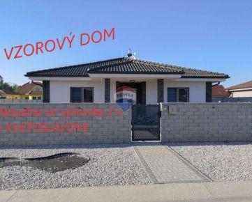 4 izbový rodinný dom Nová Tulipa Kvetoslavov, novostavba, 603m2