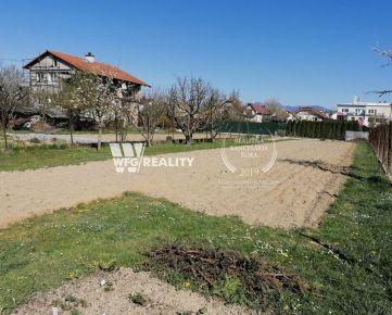rezervované - lukratívny, rovinatý a slnečný pozemok - Bytčica/500m2/