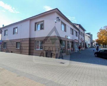 Obchodné priestory, /694 m2/ Rajec - Centrum