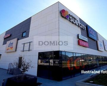 DOMIOS   predaj prevádzkovaného obchodného centra (6.000 m2, parking)