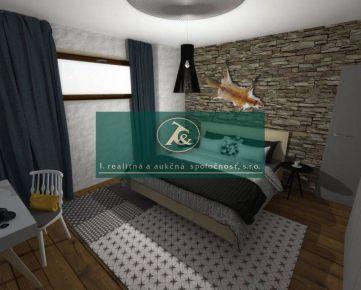 Aukcia - trojizbový byt, výmera 63 m², Mýto pod Ďumbierom