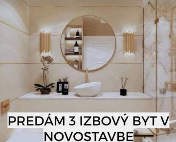REZERVOVANE Predaj 3i bytu v novostavbe v holobytu v Trenčíne